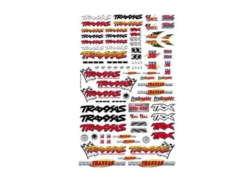Decal Sheet Official Team Traxxas Racing - Bild 1